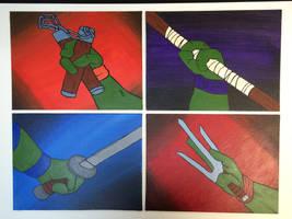 Teenage Mutant Ninja Turtles Hands