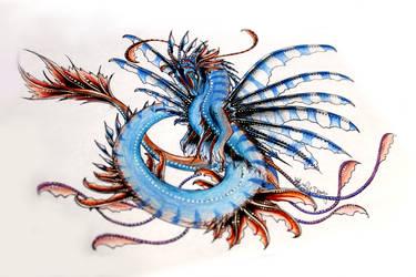 The Dragon Guardians - #02 Ocean. (Female) by PandiiVan