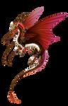 Art Trade: Flight Rising Imperial Dragon Eldridge.