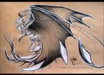 Pencil Dragon #06