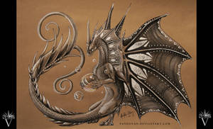 Pencil Dragon #07