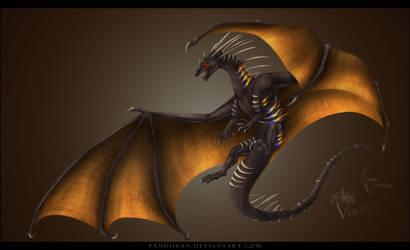 Commission: Verridith's Dragon God. (+ Speedpaint)