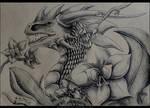 Dragon Portrait #01 by PandiiVan