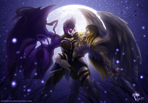 Collab: Darces and Yu - Dancing in the Moonlight.