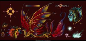Venomous Ref Sheet 2019