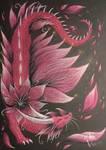 Patreon Special [2/3]: Flower Dragon Adopt. by PandiiVan