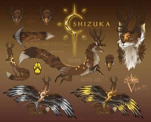 Shizuka Ref Sheet 2019 - Golden Light