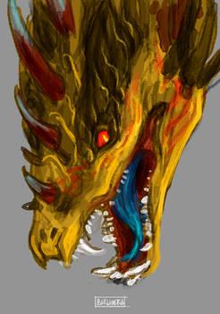 Venomous - The Paradise Bird Dragon.