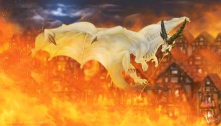 Commission: Acid Breather Dragon Raycor.