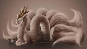 Egg Adopt - Hatchling #202 - Fluffy Eastern Dragon