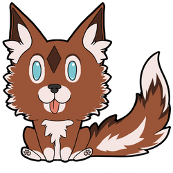 Reward: Canine Chibi Sticker Kyon.