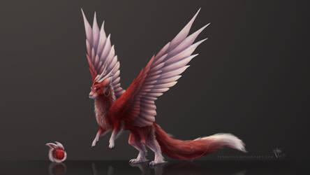 Egg Adopt - Hatchling #225 - Furred Dragon Felkin