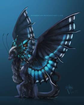 Dragon Hybrid Adopt 008 - Butterfly Dragon (CLOSE)