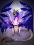 Reward: Phantom magical watercolordragon. by PandiiVan