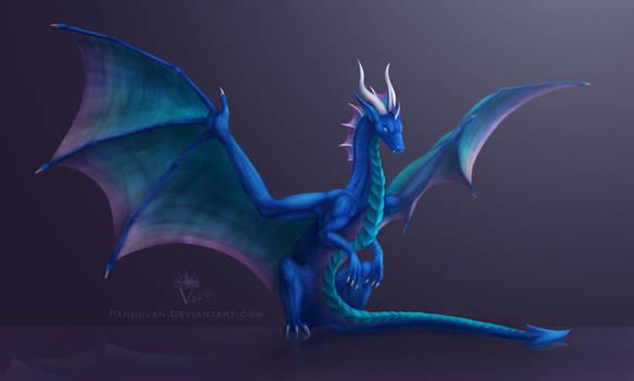Reward: Wraith, the blue dragoness.