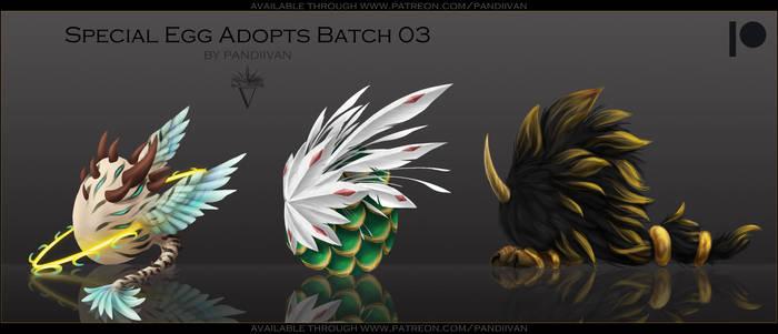 Patreon Reward: SPECIAL Egg Adopts Batch 03 OPEN
