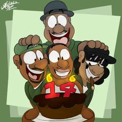 (GTA SA) Happy Bday CJ! by ArtisticBurr