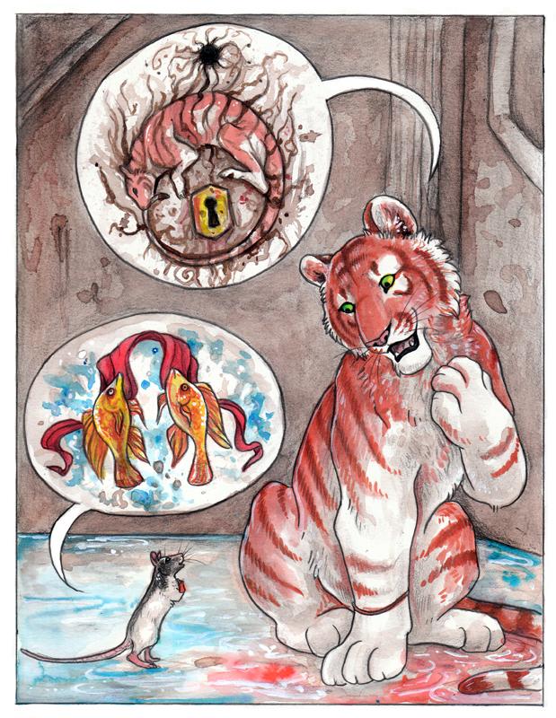 El Tigre y el Raton.