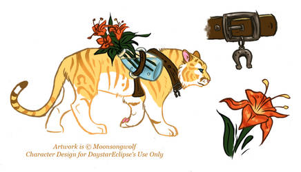 DaystarEclipse Tigress Design by MoonsongWolf