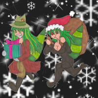 Bloody n' Milly Steal Xmas by NickyVendetta
