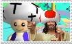 Toad Christ stamp by NickyVendetta