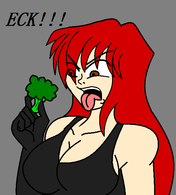 Broccoli, ECK by NickyVendetta