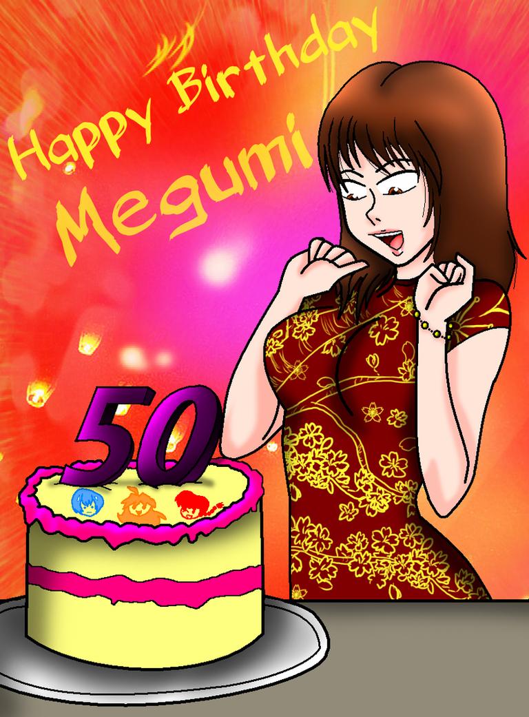 Megumi Hayashibara 50th Birthday by NickyVendetta
