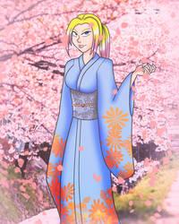 Levi Cherry Blossom Spring by NickyVendetta