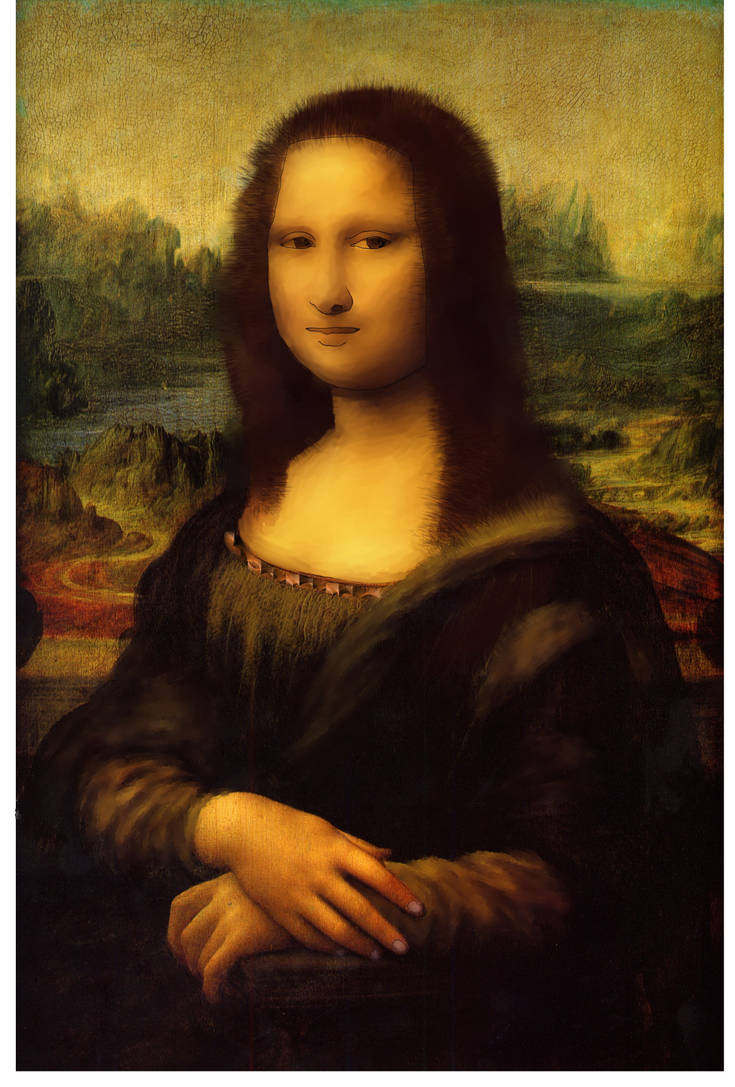 Mona lisa Regenerate by AdityaVSingh
