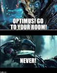 Don't listen to Quintessa, Optimus
