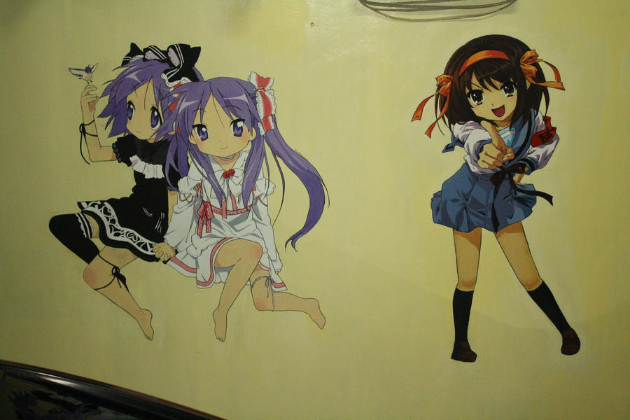 Anime Wall Painting By Niji Chii On Deviantart