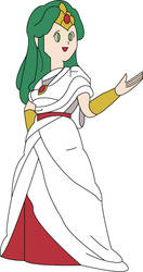 Young Palutena by Tailikku1