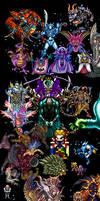SquareEnix Villains of the SNES Age