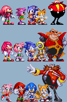 Ultimate Sonic Fighter - Three Ages by Tailikku1