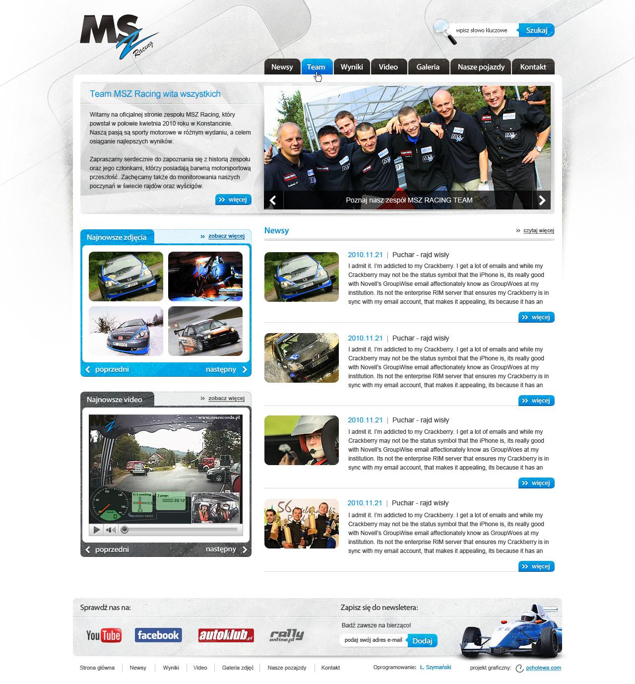 MSZ Racing Team by pcholewa