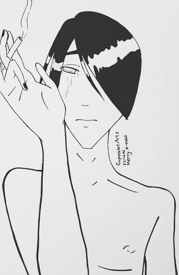 Sad little Dante by CupecakeArts