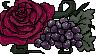 Grapes+RosesStampishThing by PoldalleLovesnare