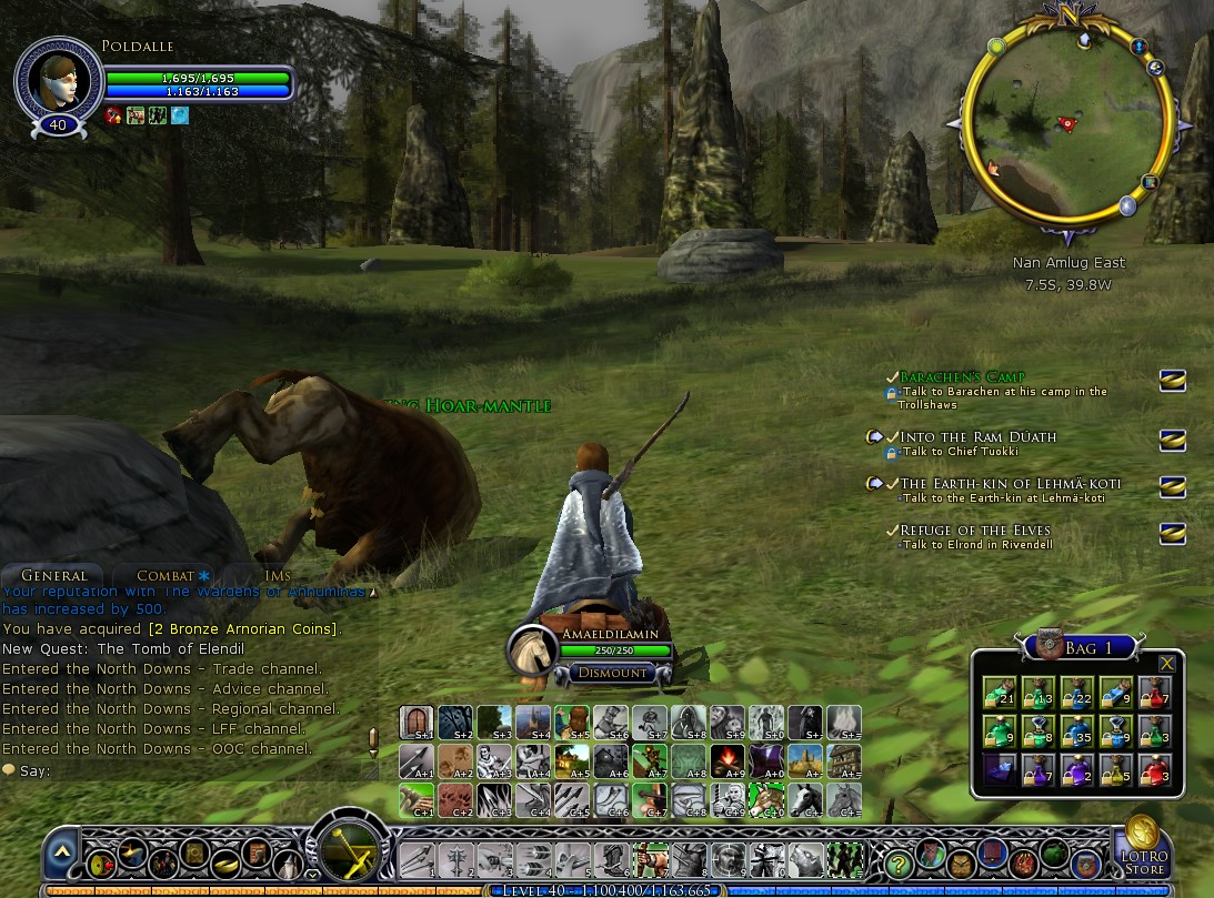 lotro how to buy staks
