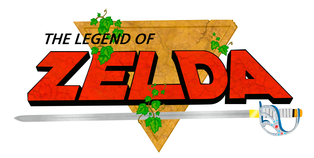 the legend of zelda - logo renderjese1801 on deviantart