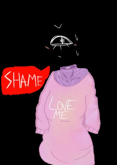 -[Shame]- by SmolDisgustingTrash