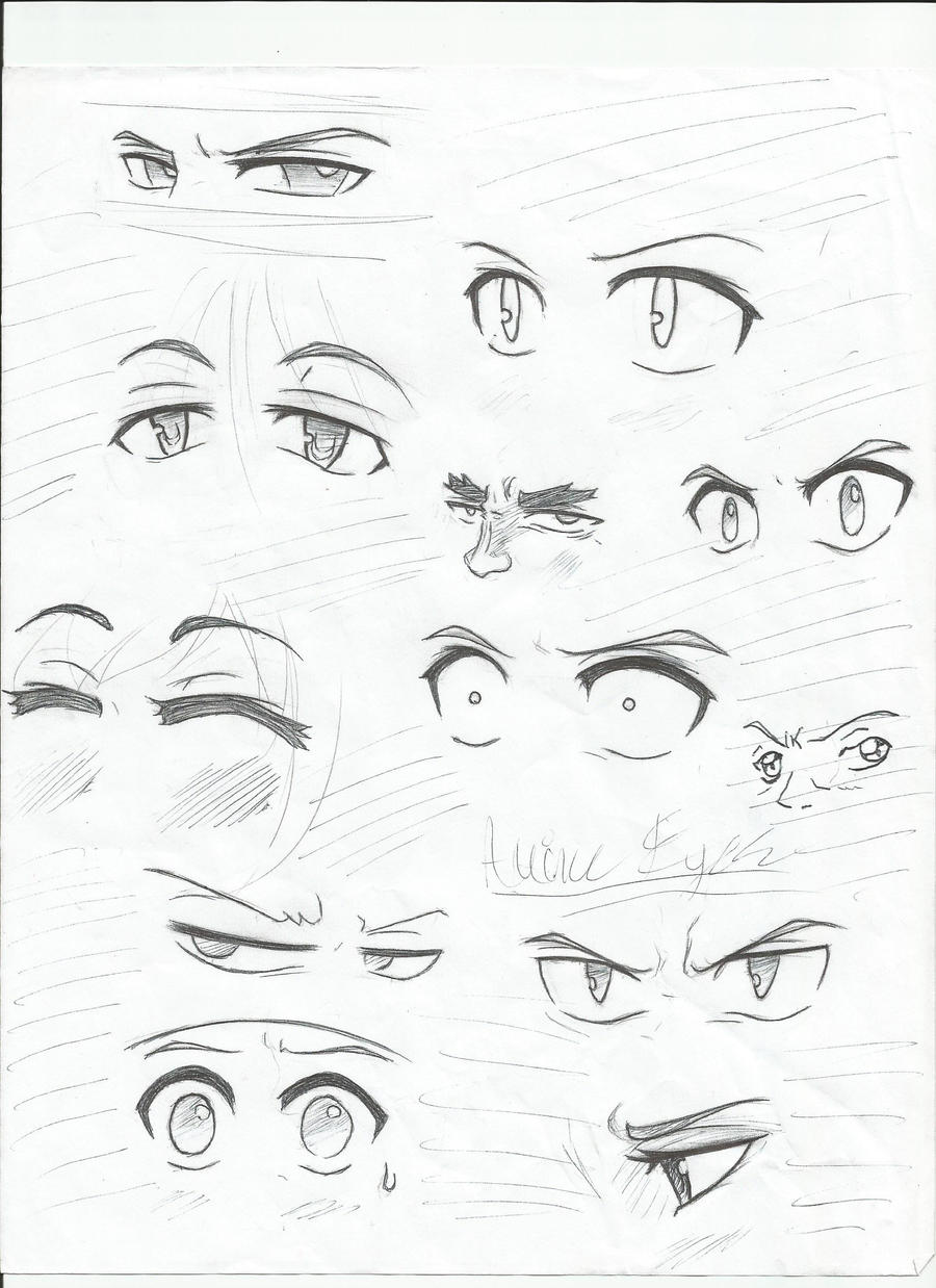 Anime Eyes 2 By Elementkyo Anime Eyes 2 By Elementkyo How To Draw Anime