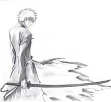 Ichigo Bankai by Wackurhment0