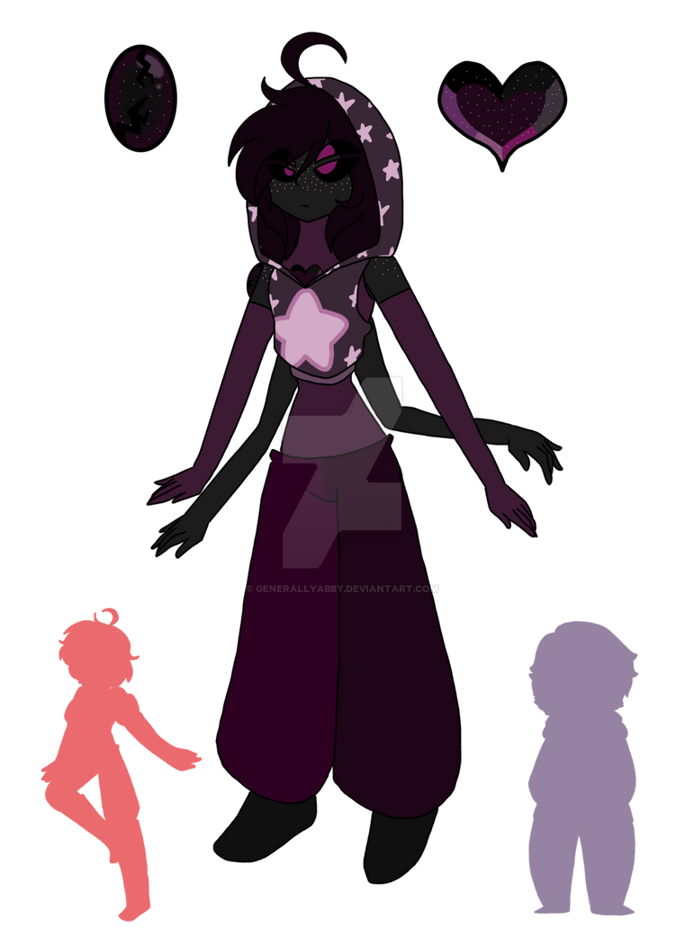 [Gem Fusion] Pink Snowflake Obsidian by GenerallyAbby