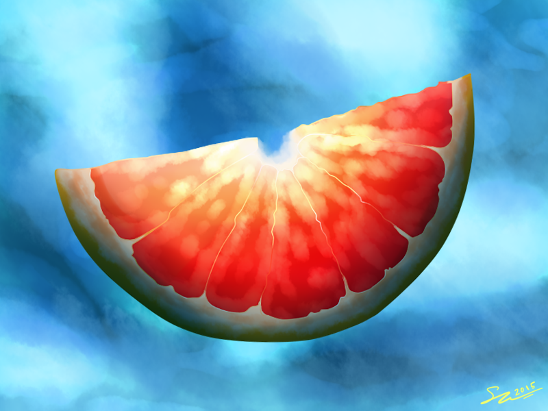 Does this grapefruit make you happy by die22342