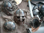 Nordic Leather Helmet