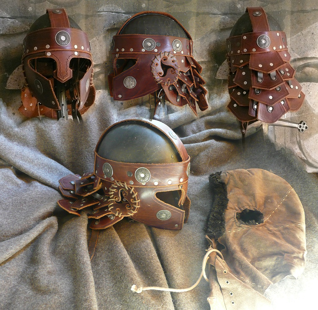 Leather Helmet by Astanael