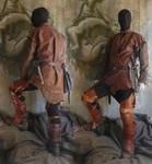 Leather tunique