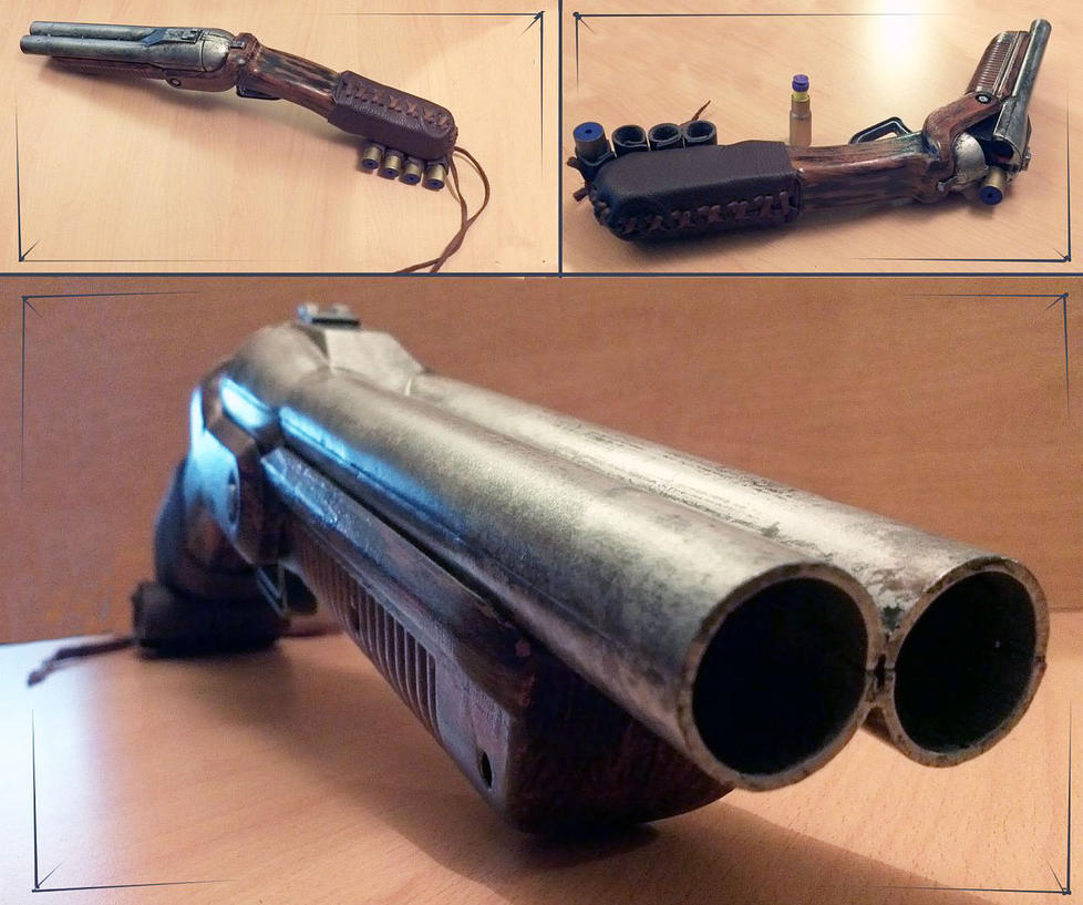 Nerf Sawed Shotgun by Astanael on DeviantArt