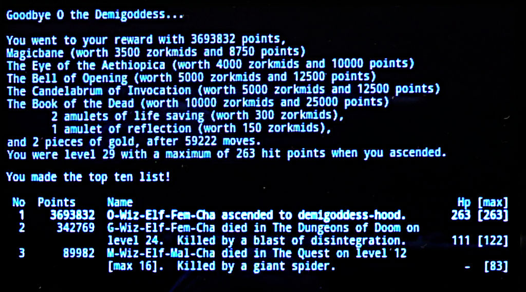 Nethack Endgame 23 by Astanael