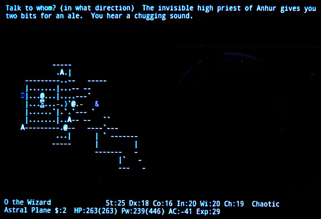 Nethack Endgame 17 by Astanael